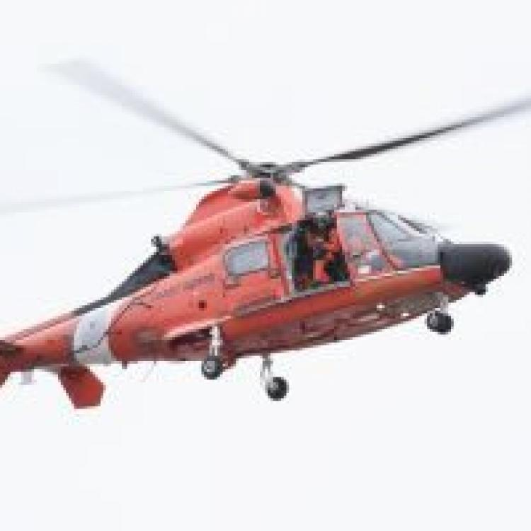 Coast Guard Finds Missing Person In The Water In Vicinity